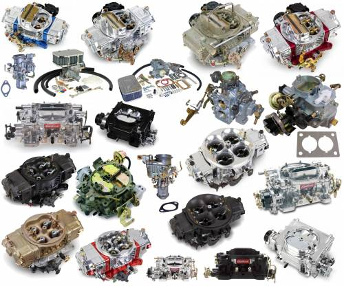 Air Intake & Fuel Delivery - Carburetors