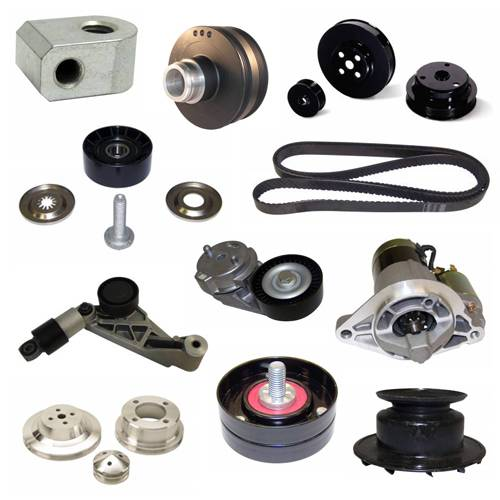 Engines & Components - Belts, Pulleys, & Brackets