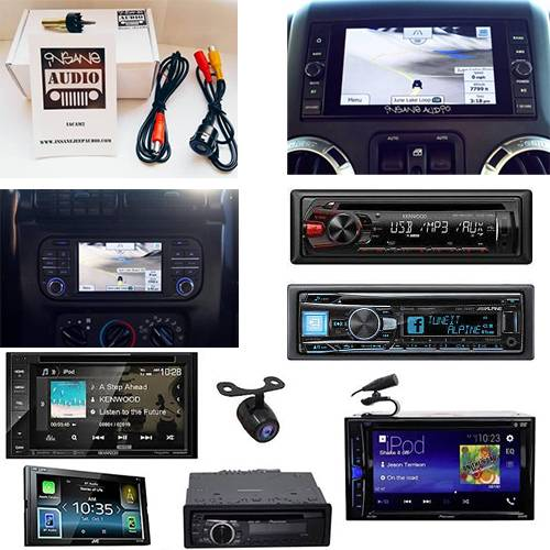 Car Electronics - Audio In-Dash Units