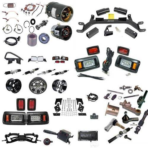 Parts & Accessories - Golf Car Parts & Accessories