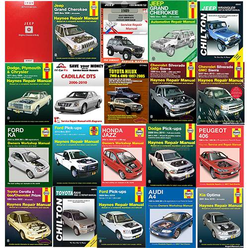 Manuals & Literature - Car & Truck Manuals