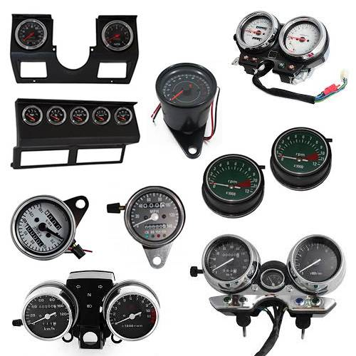 Motorcycle Parts - Instruments & Gauges