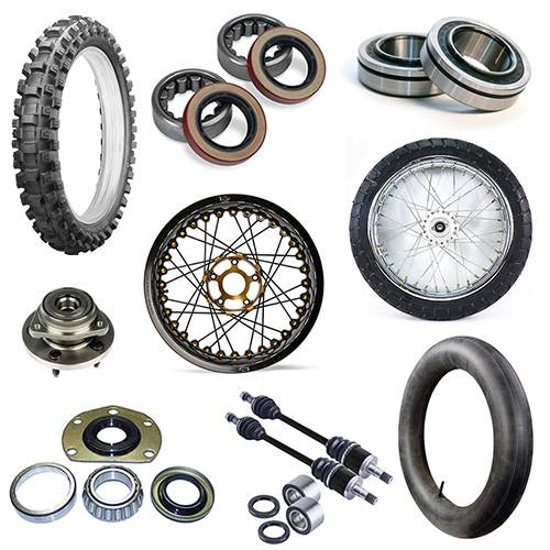 Motorcycle Parts - Wheels, Tires & Tubes