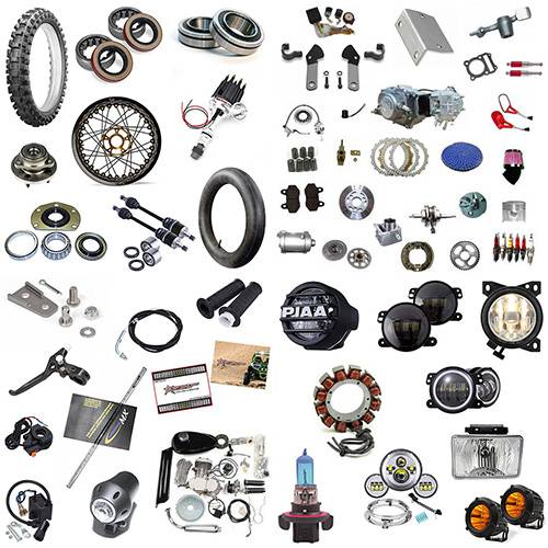 Parts & Accessories - Motorcycle Parts