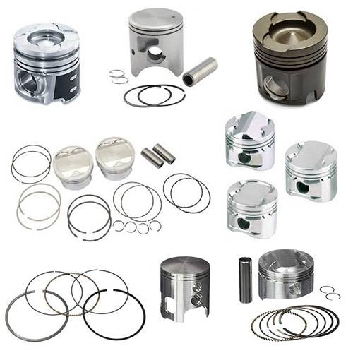 Engine & Components - Pistons & Piston Rings