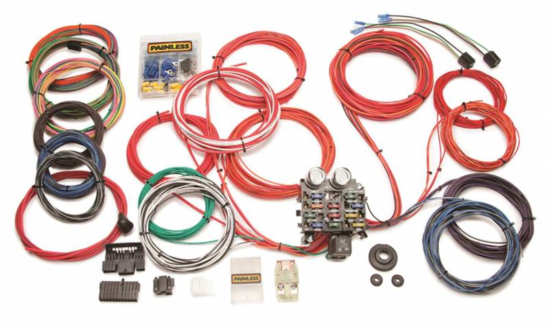 painless wiring harness and chassis painless wiring 10120 chassis wire harness  painless wiring 10120 chassis wire harness