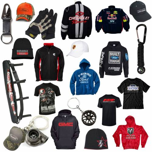Apparel & Merchandise - Car & Truck