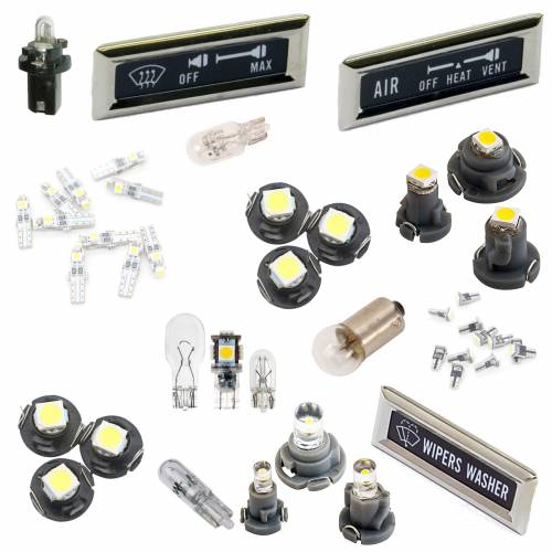 Lighting & Lamps - Instrument Panel Lights