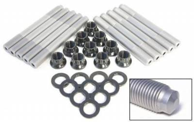 A1 Technologies - A1 Technologies Heavy Duty Head Stud Kit, Ford (2003-10) 6.0L Power Stroke (H-11 Tool Steel)