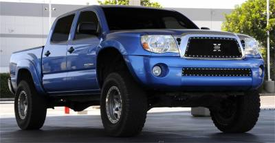 T-Rex Grilles - T-Rex Grilles 6718951 X-Metal Series Studded Mesh Grille Fits 05-10 Tacoma