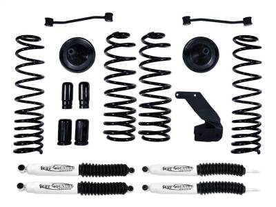 Tuff Country - Tuff Country 43001KN Lift Kit w/Shock Fits 07-18 Wrangler (JK)