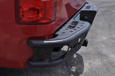 Addictive Desert Designs - Addictive Desert Designs R3023012801NA Dimple R Rear Bumper Fits Silverado 1500