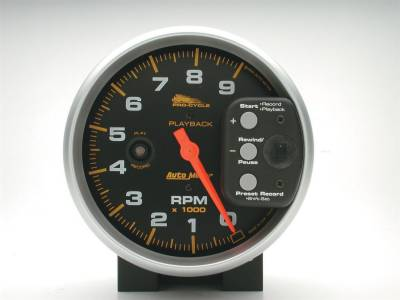 AutoMeter - AutoMeter 19266 Pro-Cycle Tachometer