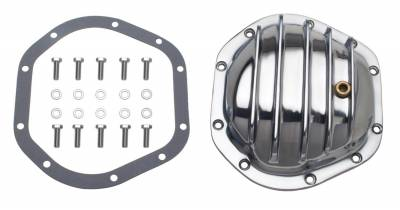 Trans-Dapt Performance Products - Trans-Dapt Performance Products 4822 Polished Aluminum Differential Cover Kit