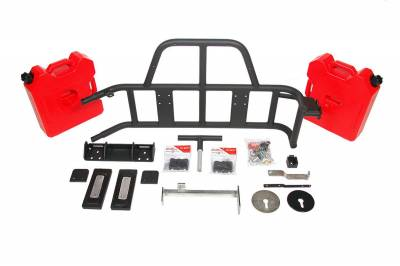 OR-FAB - OR-FAB 85209 Swing-Away Tire/Gas Can Carrier Fits 07-16 Wrangler (JK)