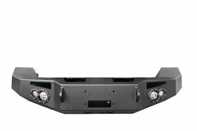 Fab Fours - Fab Fours DR13-F2951-1 Premium Winch Front Bumper Fits 13-18 1500