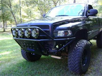 Addictive Desert Designs - Addictive Desert Designs F543111000103 Stealth Front Bumper Fits 94-01 Ram 1500