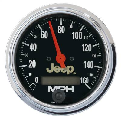 AutoMeter - AutoMeter 880244 Jeep Electric Programmable Speedometer