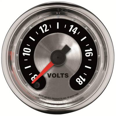 AutoMeter - AutoMeter 1282 American Muscle Voltmeter