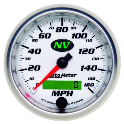 AutoMeter - AutoMeter 7488 NV In-Dash Programmable Speedometer