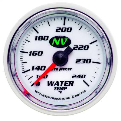 AutoMeter - AutoMeter 7332 NV Mechanical Water Temperature Gauge