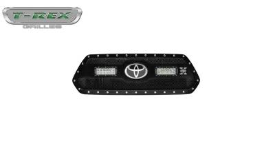 T-Rex Grilles - T-Rex Grilles 6319511 Torch Series LED Light Grille Fits 18-19 Tacoma
