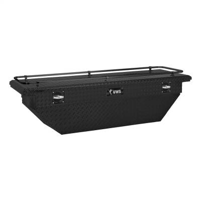 UWS - UWS SLD69-A-LP-MB-R 69 in. Secure Lock Low Profile Deep Angled Tool Box