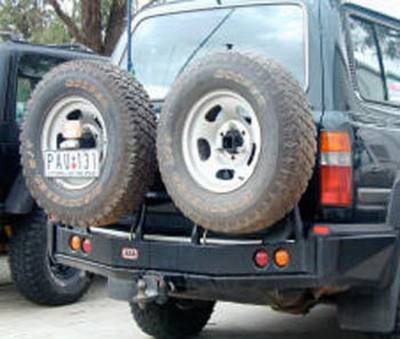 ARB 4x4 Accessories - ARB 4x4 Accessories 5711212 Spare Tire Carrier Fits 90-97 Land Cruiser LX450