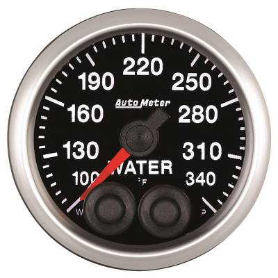 AutoMeter - AutoMeter 5555 Competition Series Water Temperature Gauge
