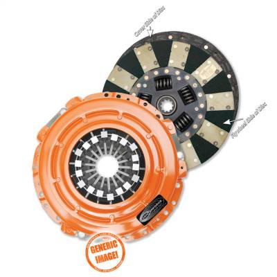 Centerforce - Centerforce DF559033 Dual Friction Clutch Pressure Plate And Disc Set
