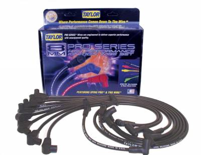 Taylor Cable - Taylor Cable 74028 8mm Spiro-Pro Ignition Wire Set