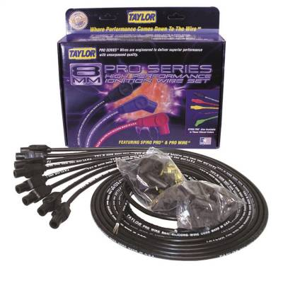 Taylor Cable - Taylor Cable 70054 8mm Pro Wire Ignition Wire Set