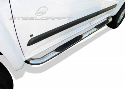 Steelcraft - Steelcraft 202627 3 in. Round Side Bar Fits 04-12 Canyon Colorado