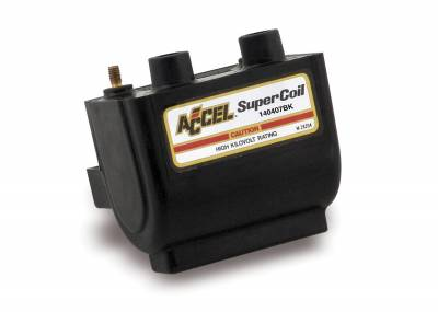 ACCEL - ACCEL 140407BK Motorcycle SuperCoil