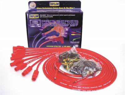 Taylor Cable - Taylor Cable 70255 8mm Pro Wire Ignition Wire Set