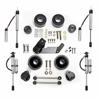 Rubicon Express - Rubicon Express RE7133MR Spacer Lift System w/Shock Fits 07-18 Wrangler (JK)