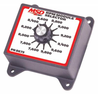 MSD Ignition - MSD Ignition 8673 Selector Switch