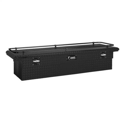 UWS - UWS SL-69-LP-MB-R 69 in. Secure Lock Single Lid Low Profile Tool Box