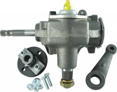 Borgeson - Borgeson 999001 Power Steering To Manual Steering Conversion Kit