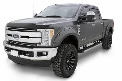 Bushwacker - Bushwacker 20942-52 Pocket Style Painted Fender Flares