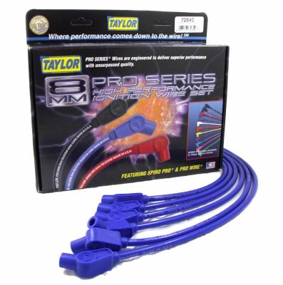 Taylor Cable - Taylor Cable 74606 8mm Spiro-Pro Ignition Wire Set