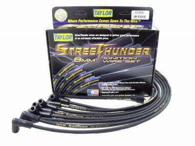 Taylor Cable - Taylor Cable 50055 Street Thunder 8mm Ignition Wire Set