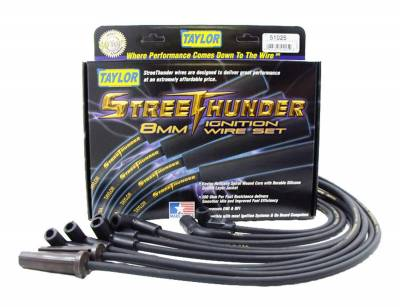 Taylor Cable - Taylor Cable 51025 Street Thunder 8mm Ignition Wire Set Fits 92-96 Corvette