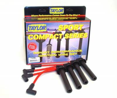 Taylor Cable - Taylor Cable 72242 8mm Spiro-Pro Ignition Wire Set Fits 02-08 Cooper