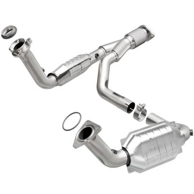 MagnaFlow 49 State Converter - MagnaFlow 49 State Converter 93496 93000 Series Direct Fit Catalytic Converter