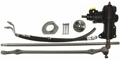 Borgeson - Borgeson 999023 Power Steering Conversion Kit Fits 65-66 Mustang
