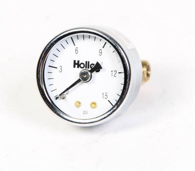 Holley Performance - Holley Performance 26-500 Mechanical Fuel Pressure Gauge