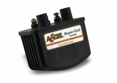 ACCEL - ACCEL 140408BK Motorcycle SuperCoil