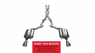 Corsa Performance - Corsa Performance 14342 Xtreme Cat-Back Exhaust System Fits 15-17 Mustang