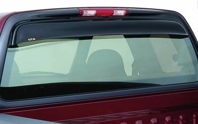 GT Styling - GT Styling 57315 Shadeblade Rear Window Deflector Fits Explorer Sport Trac